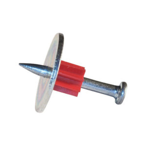8mm Concrete nail with washer